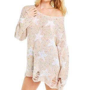 Wildfox Seeing Stars Lennon Sweater S
